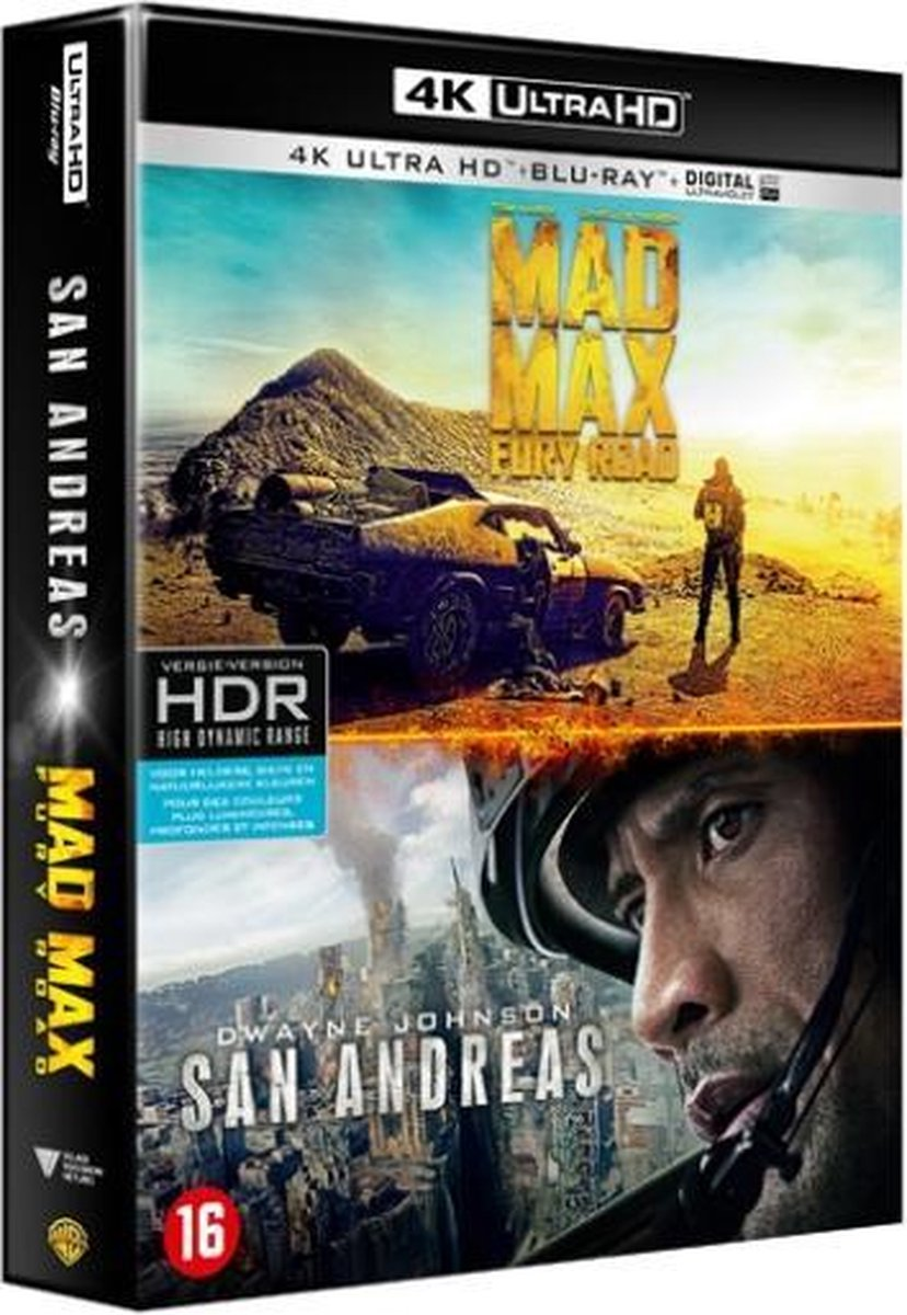 Mad Max: Fury Road & San Andreas (4K Ultra HD Blu-ray)-