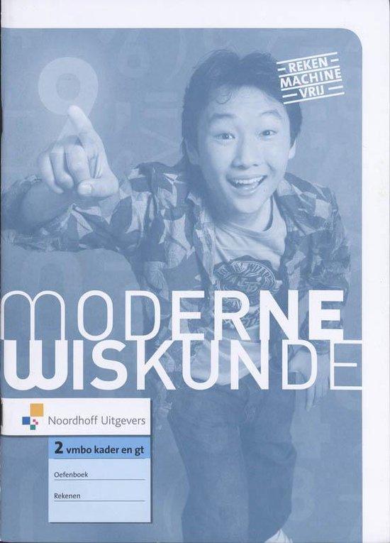 Moderne Wiskunde / 2 Vmbo Kader En Gt / Deel Oefenboek Rekenen - Ine van Breugel | Fthsonline.com