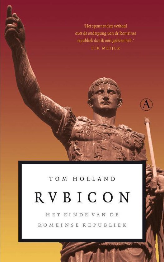 Rubicon - Tom Holland | Readingchampions.org.uk