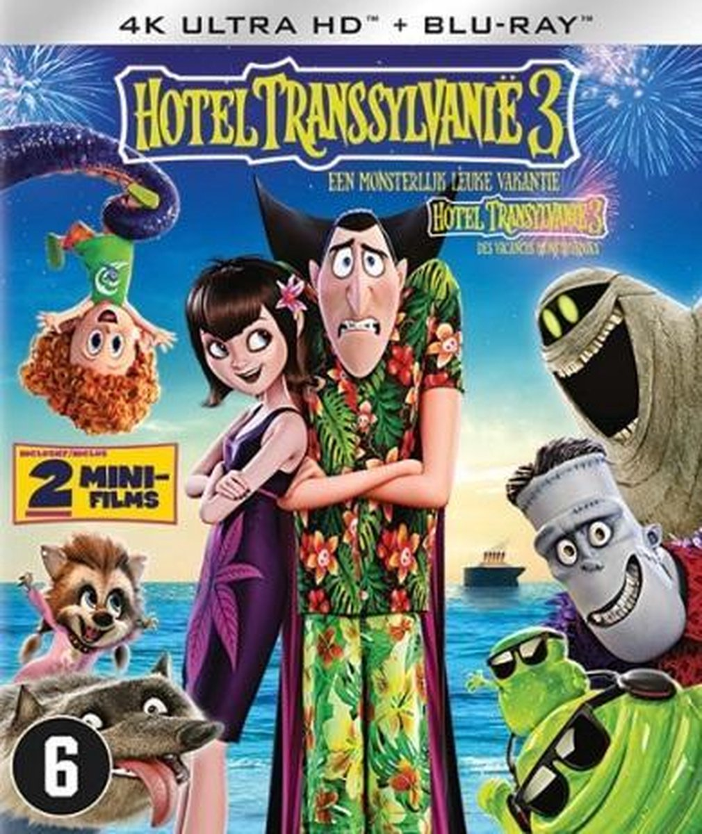Hotel Transsylvanië 3 (4K Ultra HD Blu-ray)-