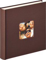 Walther Fun - Fotoalbum - 30 x 30 cm - 100 pagina's - Donker Bruin