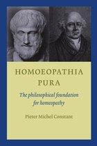 Boek cover Homoeopathia Pura van Pieter Michel Constant