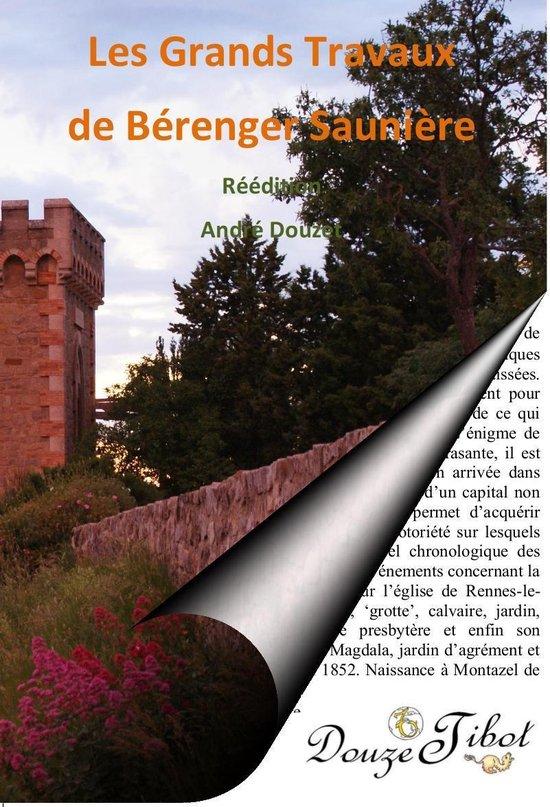 Boek cover Les Grands Travaux de labbé Saunière van Andre Douzet (Onbekend)