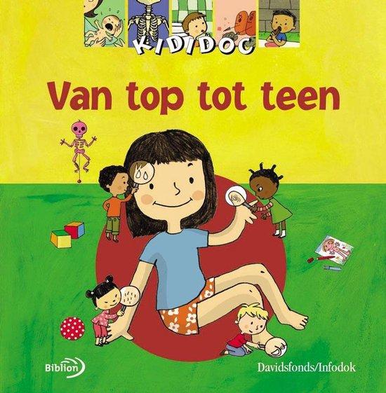 Boek cover Van top tot teen van M. Longour (Hardcover)