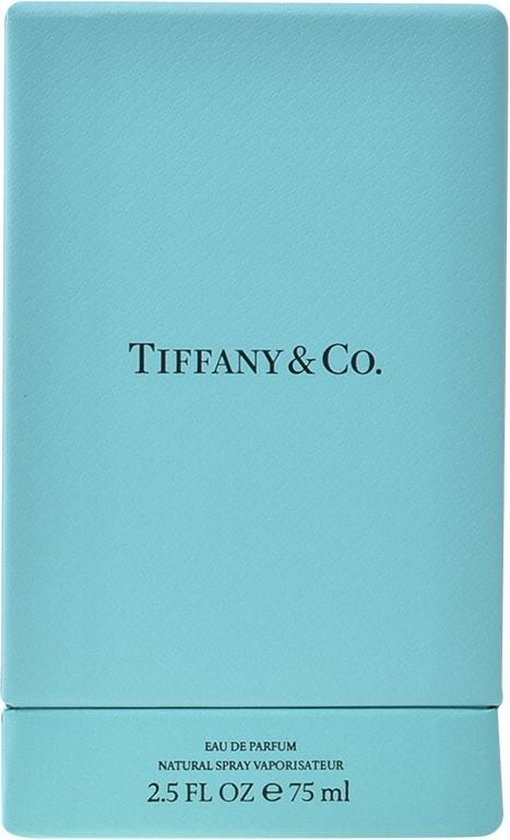 MULTI BUNDEL 2 stuks TIFFANY & CO Eau de Perfume Spray 75 ml