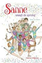 Boek cover Sanne waagt de sprong van Paula van Manen (Hardcover)