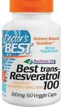 Best trans-Resveratrol 100, 100 mg (60 vegetarische capsules) - Doctor's Best