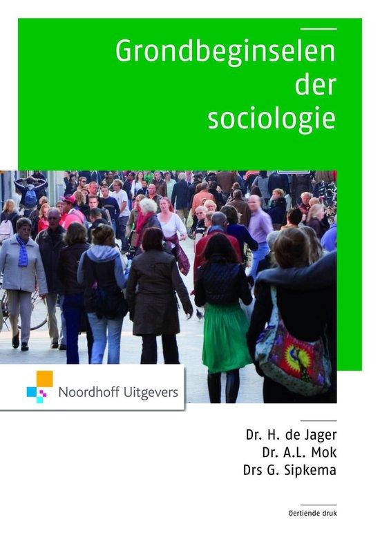 Grondbeginselen der sociologie - Hugo de Jager pdf epub