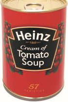 Kameleon safe - verborgen geheime kluis - Blik Heinz tomatensoep