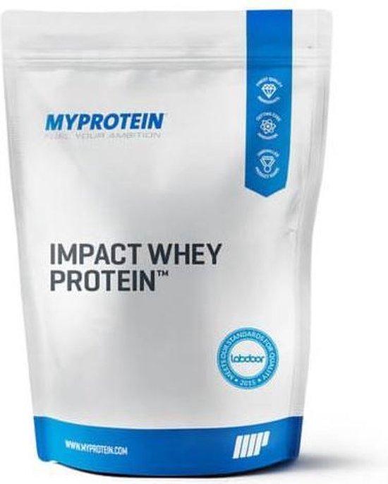 Impact Whey Protein, Natural Vanilla, 1kg  - MyProtein