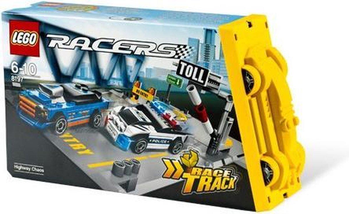 LEGO Racers Chaos op de snelweg - 8197
