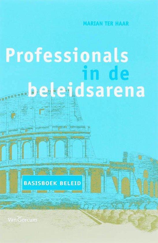 Cover van het boek 'Professionals in de beleidsarena / druk 3'