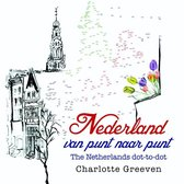 Nederland van punt naar punt/The Netherlands dot-to-dot