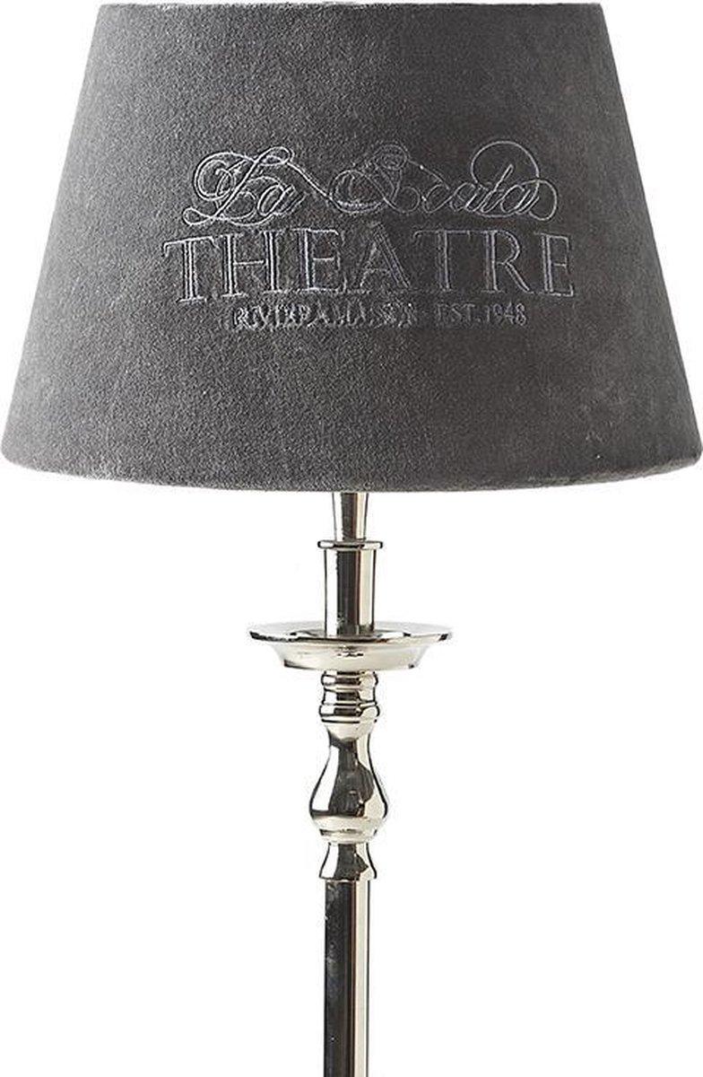 Bol Com Riviera Maison Theatre Lampshade Grey 20x28 Lampenkap