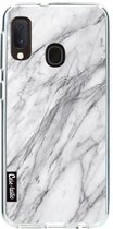 Samsung Galaxy A20e hoesje Marble Contrast Casetastic Smartphone Hoesje softcover case