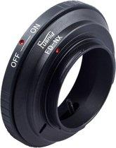Adapter FD-NX: Canon FD Lens-Samsung NX mount Camera