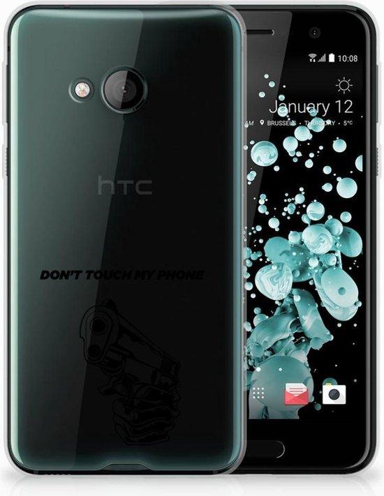 HTC U Play TPU-siliconen Hoesje Gun DTMP