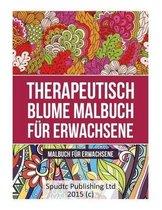 Therapeutisch Blume Malbuch F r Erwachsene