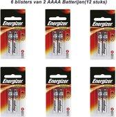 Energizer AAAA batterijen (12 stuks)