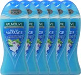 Palmolive Douchegel Feel The Massage - Voordeelverpakking - 6 x 250 ml