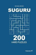 Suguru - 200 Hard Puzzles 9x9 (Volume 1)