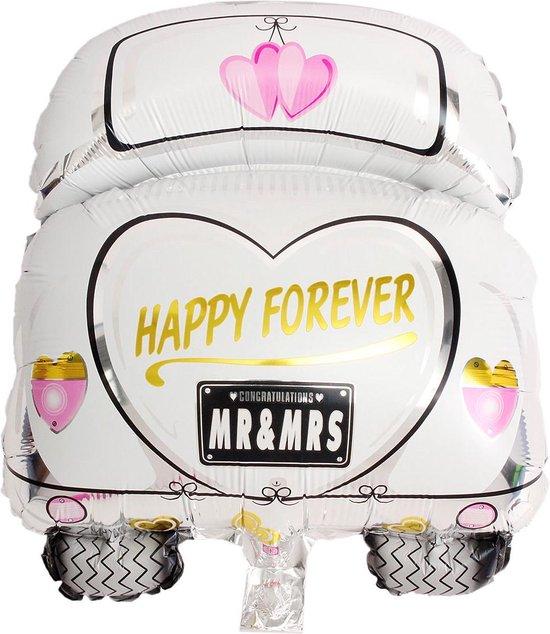 Folieballon Happy forever 39x50 cm