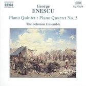 Enescu:Piano Quintet.Piano Qua
