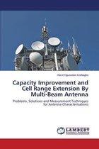 Boek cover Capacity Improvement and Cell Range Extension by Multi-Beam Antenna van Nguendon Kenhagho Herve