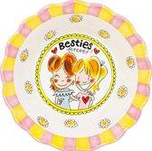 Blond Amsterdam - Even Bijkletsen - Bowl - Besties Forever -  Ø 23,5 cm