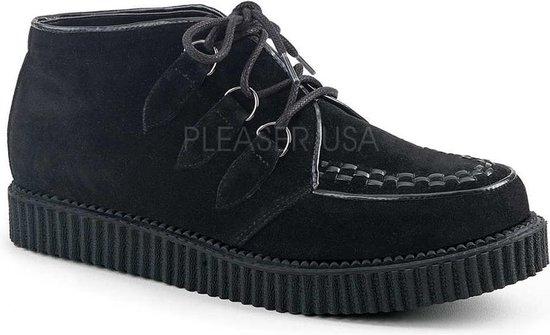 Demonia Lage schoenen -38 Shoes- V-CREEPER-662 US 6 Zwart