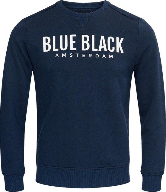 Blue Black Amsterdam Jongens Trui Milan 2.0 - Donkerblauw - Maat 152
