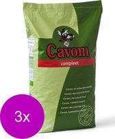 Cavom Compleet Adult - Hondenvoer - 3 x 20 kg