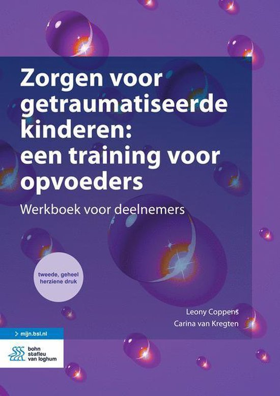 Boek cover Zorgen voor getraumatiseerde kinderen van Leony Coppens (Onbekend)