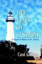 Five Years on St. Simons
