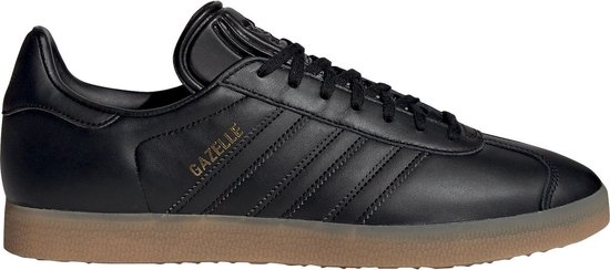 adidas Gazelle Heren Sneakers - Core Black/Core Black/Gum 3 - Maat 40 2/3