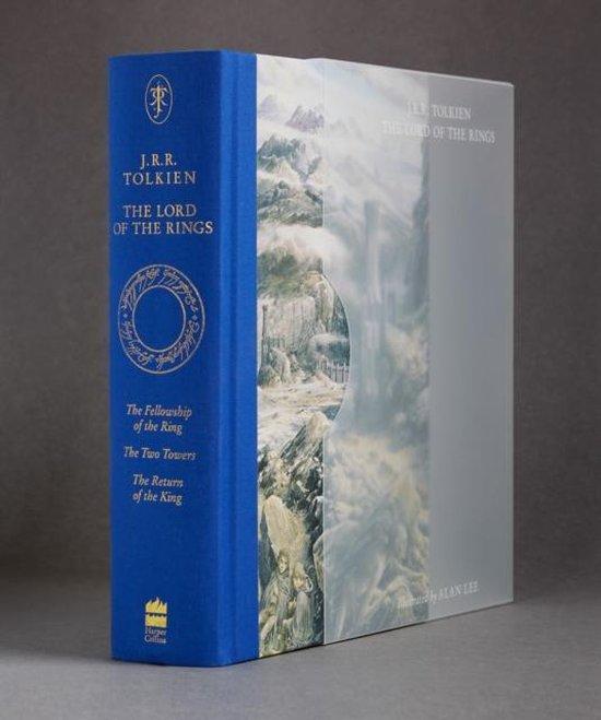 Boek cover Lord of the Rings Illustrated (Slipcased 60th Anniversary Edn) van j. r. r. tolkien (Hardcover)