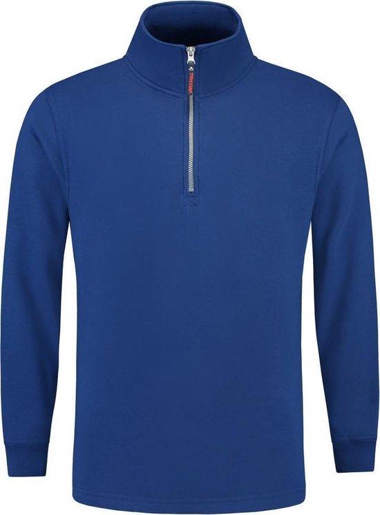 Tricorp Sweater ritskraag - Casual - 301010 - koningsblauw - maat L
