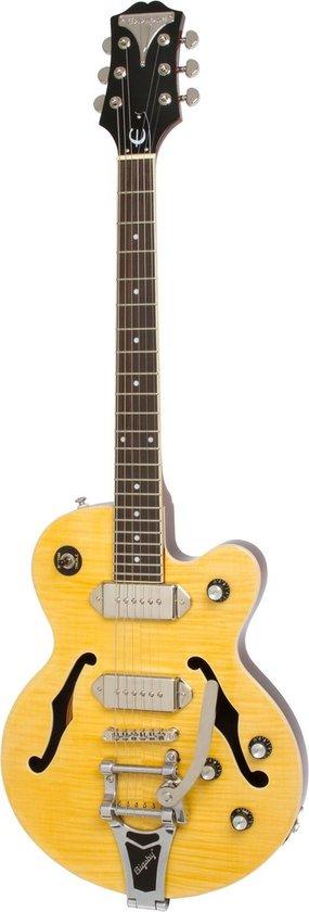 Epiphone Wildkat Antique Natural semi-akoestische gitaar