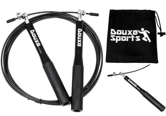 Douxe Speed Rope Springtouw - Verstelbaar - Met Kogellager