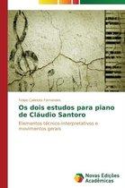 OS Dois Estudos Para Piano de Claudio Santoro