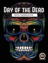 Adult Coloring Book (Day of the Dead): An adult coloring book with 50 day of the dead sugar skulls