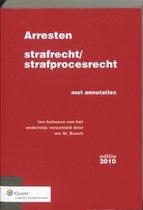 Boek cover Arresten strafrecht en strafprocesrecht van M. Bosch