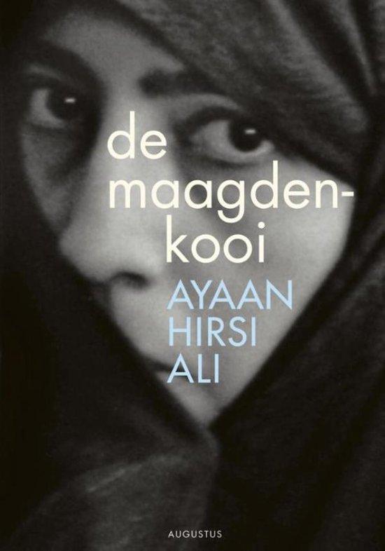 Cover van het boek 'De maagdenkooi' van Ayaan Hirsi Ali