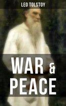 Boek cover WAR & PEACE van Lev Tolstoy