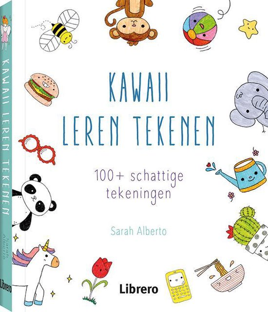 Boek cover Kawaii: leren tekenen van Sarah Alberto (Paperback)