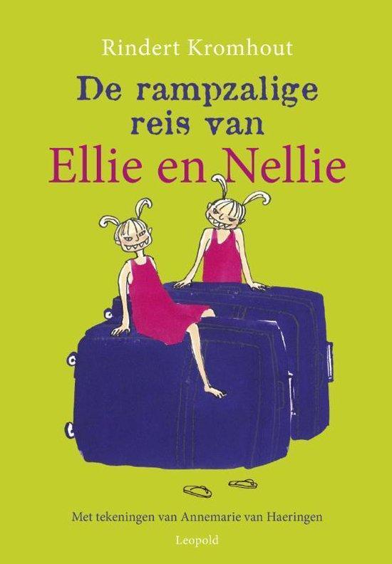 Boek cover Rampzalige reis van Ellie en Nellie van Rindert Kromhout (Hardcover)