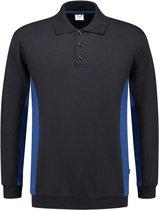 Tricorp 302003 Polosweater Bicolor Marineblauw/Korenblauw maat XL