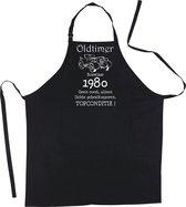 Mijncadeautje Luxe Keukenschort Oldtimer 1980