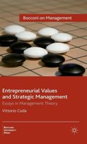 Entrepreneurial Values and Strategic Management