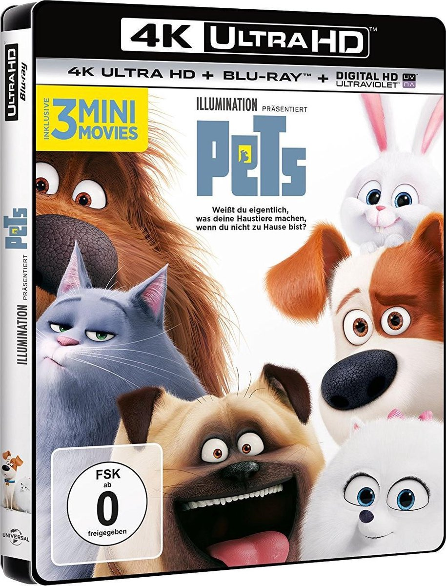 Pets (Ultra HD Blu-ray & Blu-ray) (import)-